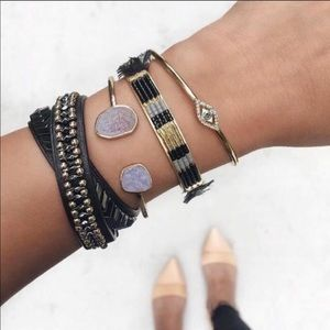 Stella and Dot Glided Path Double Wrap Bracelet